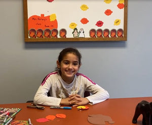 Craft With Gabby - How to Craft a Fall Themed Word Ring for Spelling/Word Practice