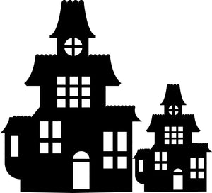 New Haunted House Cutouts!
