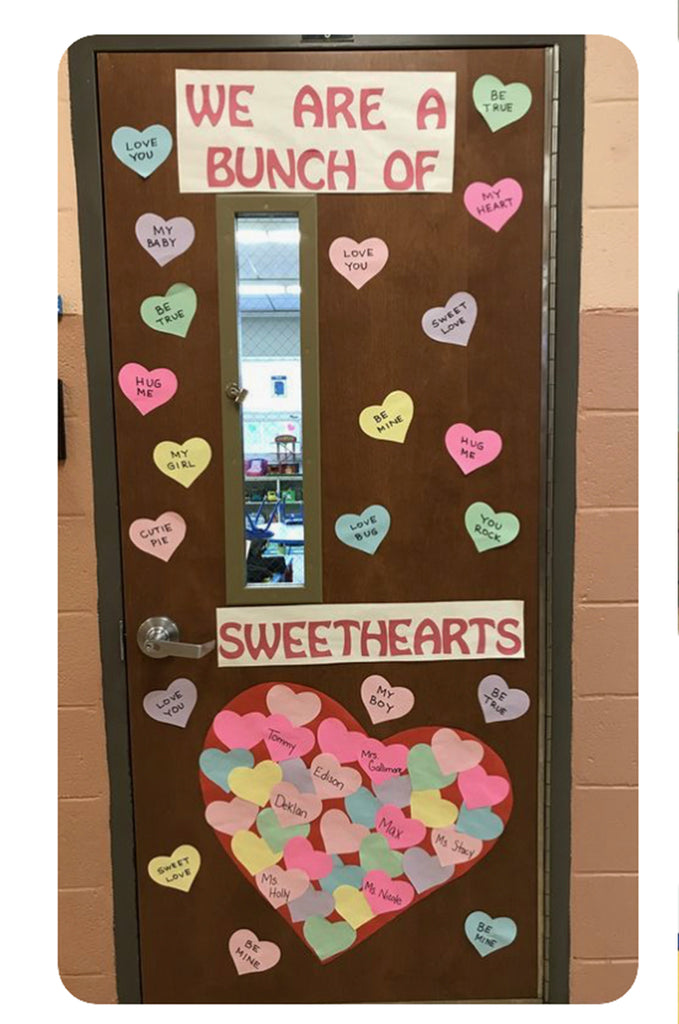 Heart Door Display Idea