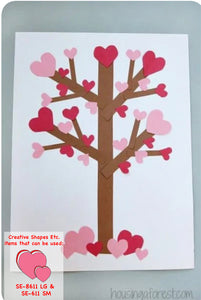 Heart Tree Craft