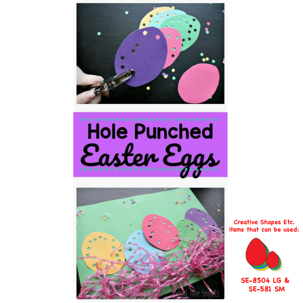 Hole Punch Easter Egg Activity
