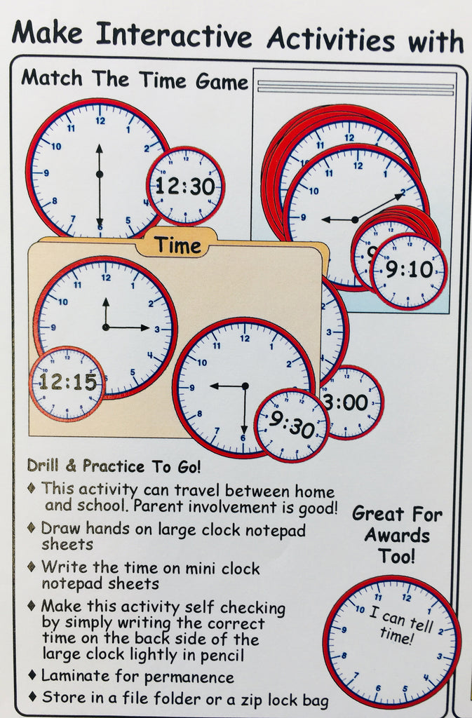 Interactive Clock Activities