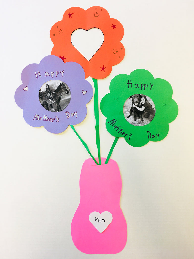 Mother's Day Flower Vase Craft