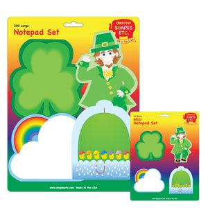 New! St. Patrick's Day Notepad Sets!