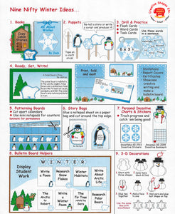 Nine Nifty Winter Ideas (NEW How-to sheet available!)