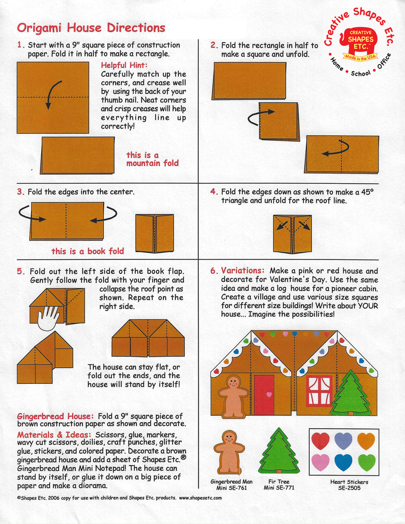 Make an Origami House