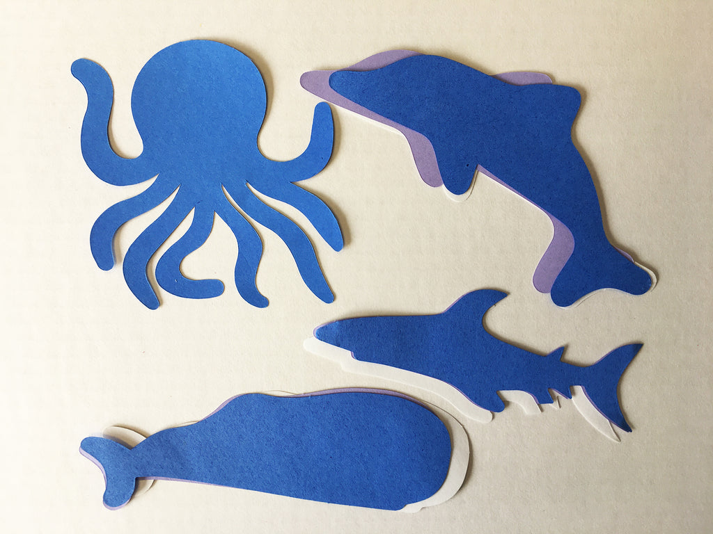 New Ocean Cut-Out Set