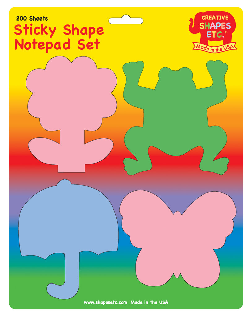 Spring Sticky Notepad Set