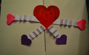Pre School Valentine's Fun Project