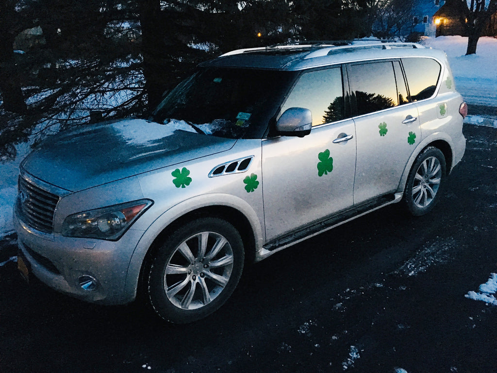 Bling Your Vehicle - St. Patrick's Day Magnetic Decor