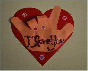 Sign Language Valentine