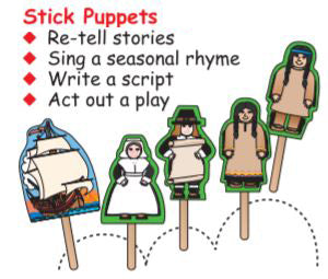Thanksgiving Stick Puppets