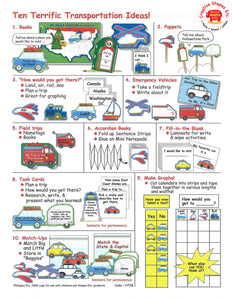New How-To Sheet: Transportation Ideas