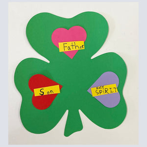 A fun Trinity Shamrock Craft