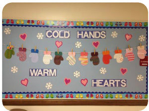 Mitten Bulletin Board Idea