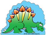 Picture of Mini Notepad - Stegosaurus