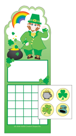 Incentive Sticker Set - Leprechaun - Creative Shapes Etc.