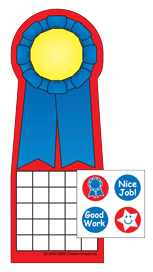 Picture of Incentive Sticker Set - Blue Ribbon