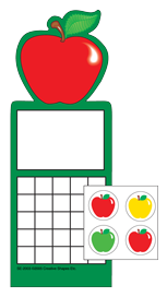 Incentive Sticker Set - Apple - Creative Shapes Etc.