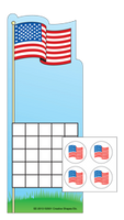 Incentive Sticker Set - Flag - Creative Shapes Etc.
