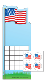Picture of Incentive Sticker Set - Flag
