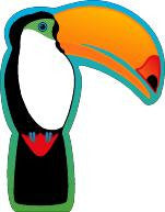 Mini Notepad - Toucan