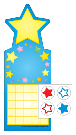 Incentive Sticker Set - Star - Creative Shapes Etc.