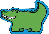 Picture of Mini Notepad - Alligator