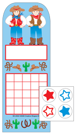 Picture of Incentive Sticker Set - Western
