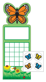 Incentive Sticker Set - Butterfly - Creative Shapes Etc.