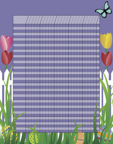 Picture of Vertical Incentive Chart - Spring (SE-3352)