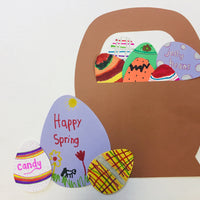 "Egg Assorted Color Creative Cut-Outs- 5.5"" - Creative Shapes Etc."
