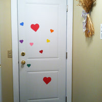 Magnets - Small Tri-Color Heart - Creative Shapes Etc.