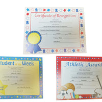 Recognition Certificate - Certificate of Recognition - Creative Shapes Etc.