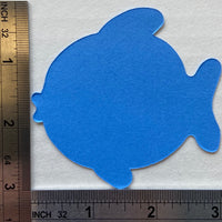 "Fish Assorted Color Creative Cut-Outs- 3"" - Creative Shapes Etc."