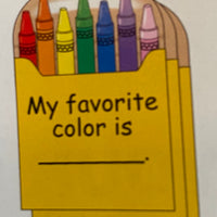 Large Notepad - Crayon Box