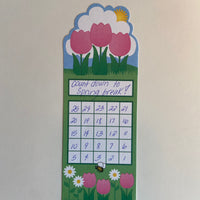 Personal Incentive Chart - Spring Flower