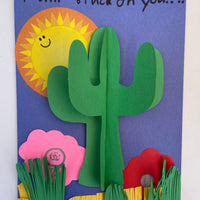 Large Single Color Cut-Out - Cactus