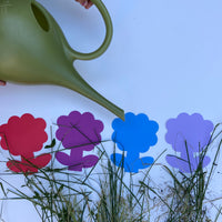 Flower Assorted Color Creative Cut-Outs- 5.5""