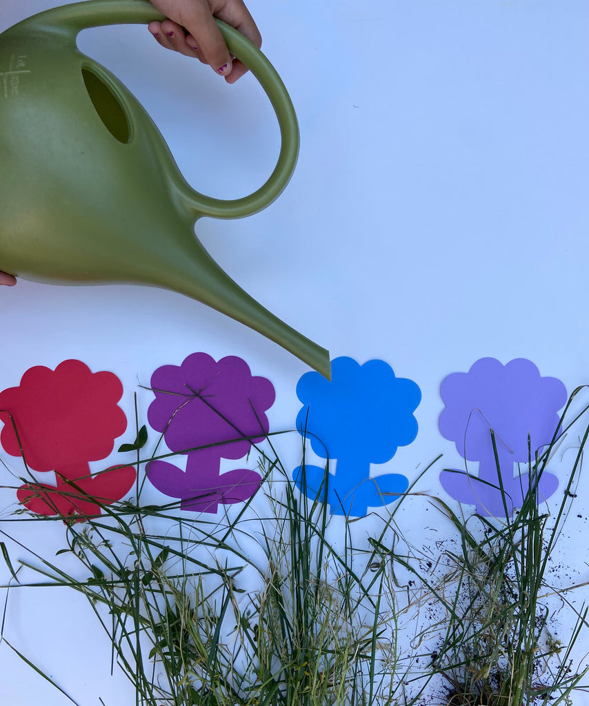 Flower Large Assorted Color Creative Foam Cut-Outs