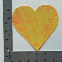 Heart Marble Assorted Color Creative Cut-Outs, 5.5""