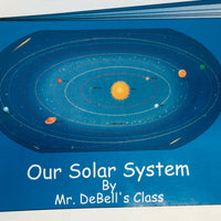 Solar System Labeled- Practice Map - Creative Shapes Etc.