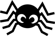 Small Single Color Cut-Out - Spider
