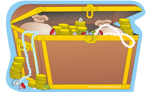 Picture of Large Notepad - Treasure Chest