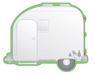 Large Notepad - Camper - Creative Shapes Etc.