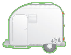 Large Notepad - Camper