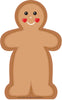 Large Notepad - Gingerbread Man - Creative Shapes Etc.