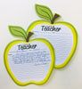 Golden Apple Blank Pad - Notes to Parents