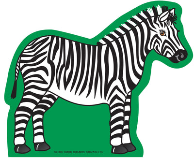 Large Notepad - Zebra - Creative Shapes Etc.