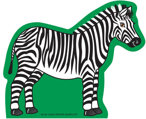 Picture of Large Notepad - Zebra